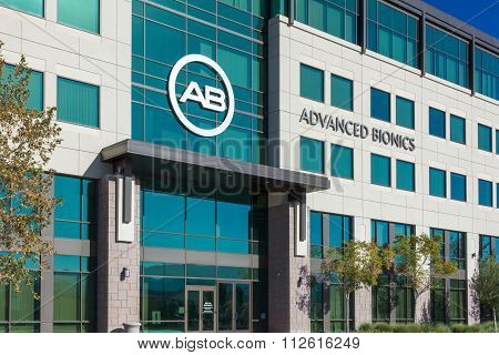 Advanced Bionics Headquarters and Logo