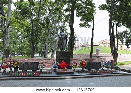 Monument To Perished Of World War Ii In Belarus