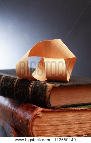 Mobius Strip On Book