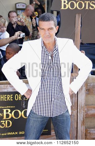 LOS ANGELES, USA - Antonio Banderas at the Los Angeles Premiere of