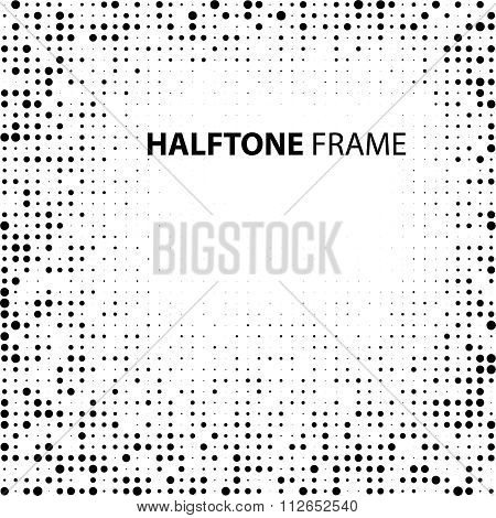 Vector Vintage Grunge Dirty Overlay Distress Border Frame. Rectangle in Grungy Style for your Design