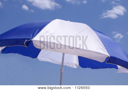 Parasol Against Blue Sky