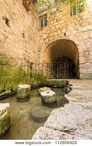 Pool Of Siloam, Jerusalem, Israel