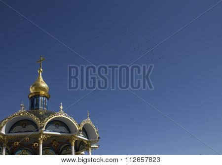 Architecture And Roof Of The Christian Church