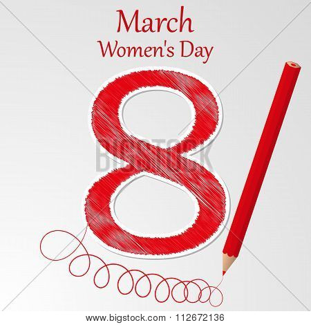 Vector illustration of Women Day