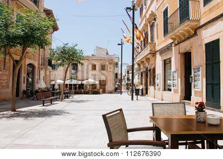 Ajuntament Town Hall In Santanyi, Mallorca