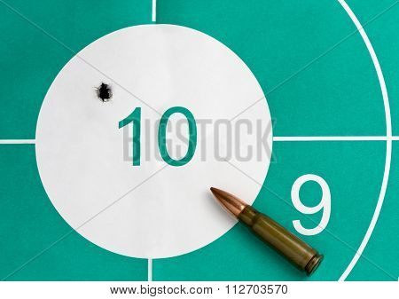 Bullet Hit The Target