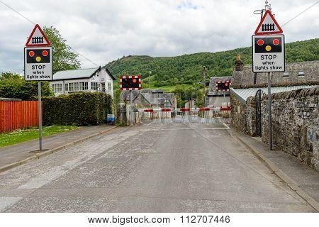 Level Crossing Blair Atholl.