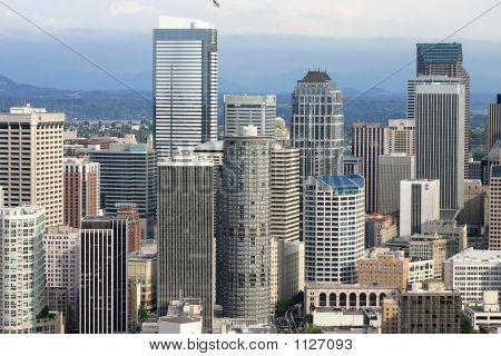 Seattle Downtown View