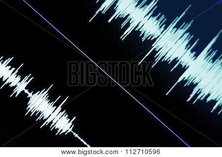 Audio Studio Voice Recording Sound Wave