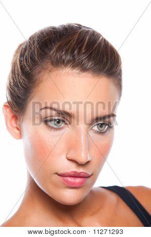 Serious Pretty Woman