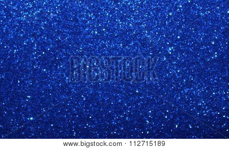 Sparkling blue background or backdrop