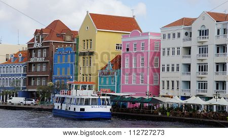 View of Willemstad in Curacao