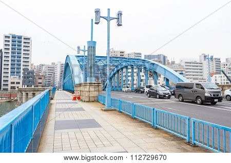 Blue Bridge Sumida River
