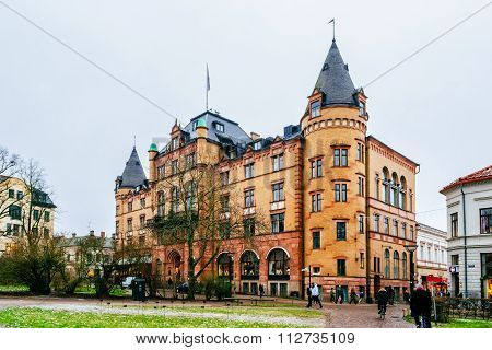 Lund, Sweden - December 30, 2014: Grand Hotel In Lund Is One Of The City's Oldest And Most Noteworth