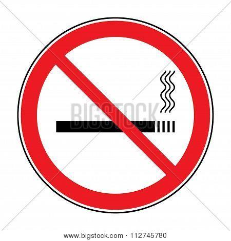 Sign No Smoking