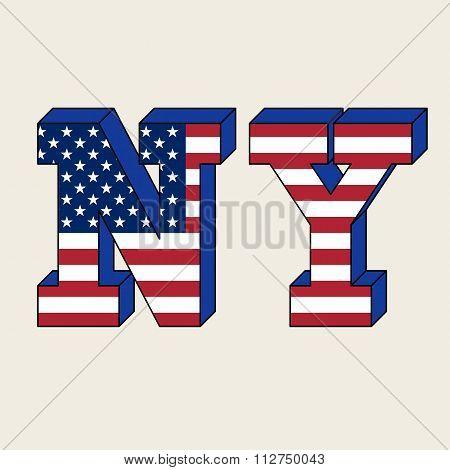 NYC typography, t-shirt graphics