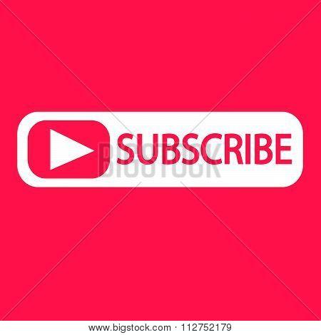 Subscribe Icon Symbol Illustration Design