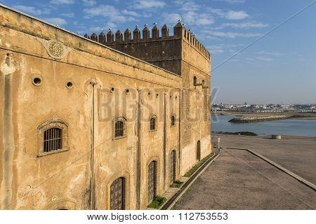 Kasbah Of The Udayas And Bou Regreg River. Rabat, Morocco... Rabat, Morocco.