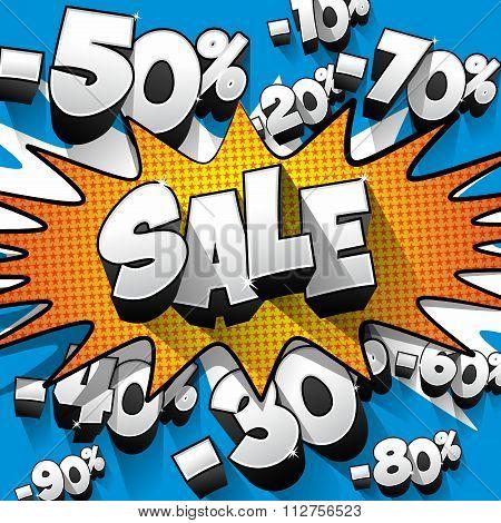 Creative sale design