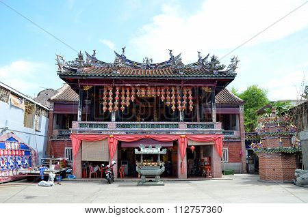 Poh Hock Seah Temple In Penang, Malaysia