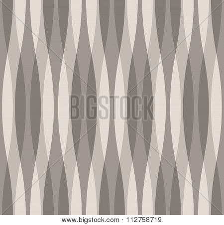 Shades Of Gray Abstract Wavy Background