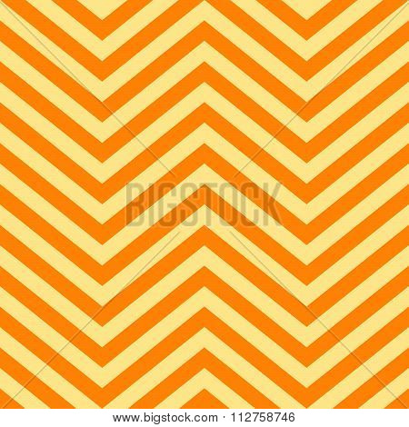 Background Of Yellow And Orange V Shape Patterns