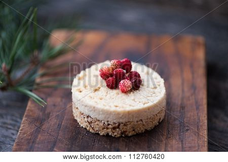 Raw cheese cake