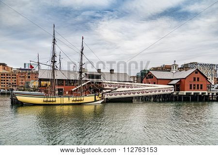 The Boston Tea Party Museum