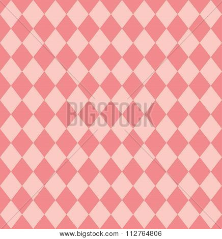Vintage Pattern Background With Rhombus