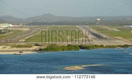 Queen Beatrix International Airport in Aruba