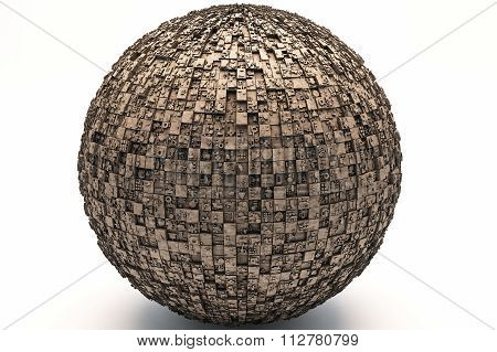 Mysterious Greeble Sphere