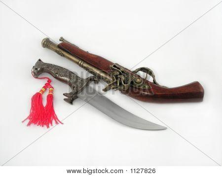 Dagger And Pistol