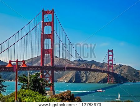 Golden Gate Bridge - San Francisco, CA