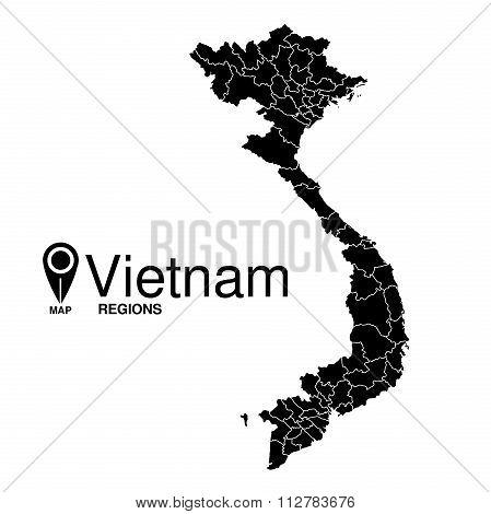 Detailed Map Of Vietnam