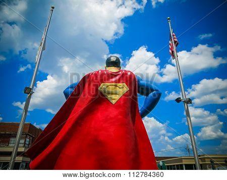 The Man of Steel - Superman In Metropolis