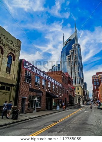 The Man in Black - Johnny Cash Museum in Downtown Nashville, TN
