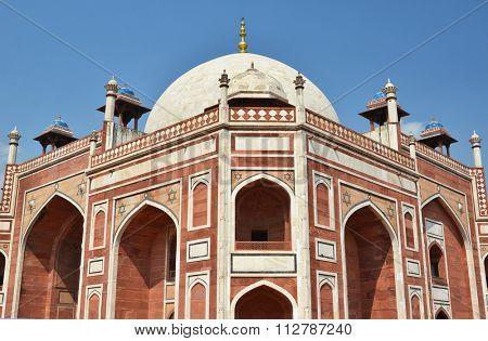 Humayun tomb. Great Mogul mausoleum, New Delhi, India