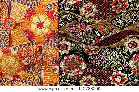 Beautiful Colored Fragment Of Cloth