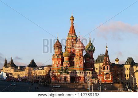 Beautiful St Basils Cathedral