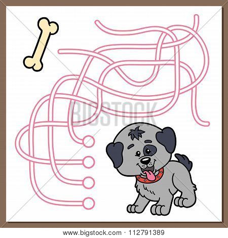 Maze game dog