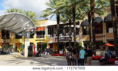 CityPlace in West Palm Beach, Florida