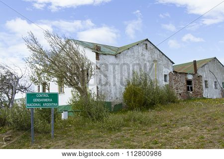 Old Argentina Border Outpost