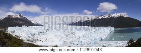 Perito Moreno Glacier And Lake Argentio
