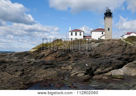 Famous Beavertail Lighthouse Is Popular Attraction