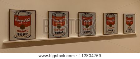 New York City MOMA - Andy Warhol, Campbell's Soup Cans