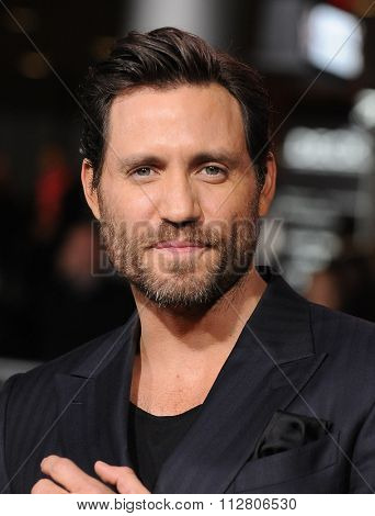 LOS ANGELES - DEC 15:  Edgar Ramirez arrives to the