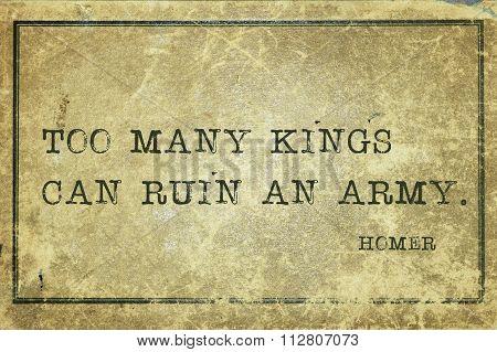 Ruin Army Homer