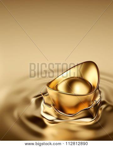 Gold Sycee - Yuanbao