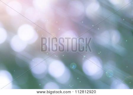 Glow Sweet Bokeh In Fantasy Mood Background